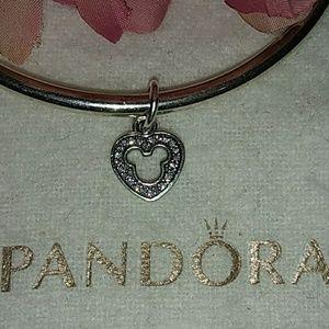 Pandora Disney Silhouette Dangle Charm